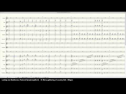 Beethoven Symphony No.6 Op.68 - Programed in Finale 2014 by pkmtKuma