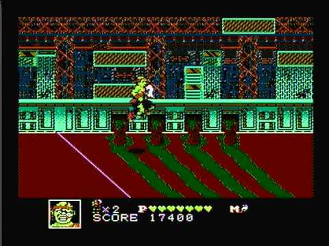 Toxic Crusaders (NES) Full No Death Play Through