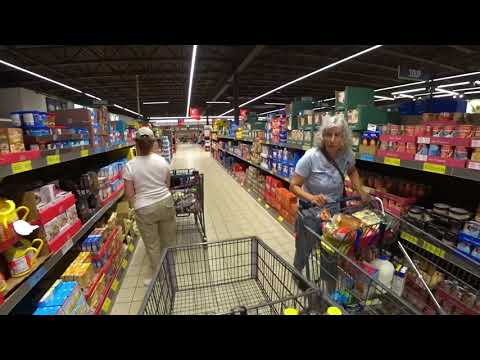 September 10, 2019/705 Trucking, Grocery Shopping At ALDI. Oconomowoc, Wisconsin