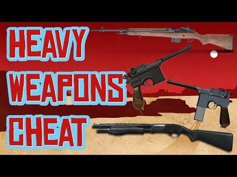 Red Dead 2 | Heavy Weapons Cheat