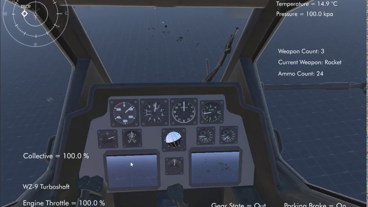 Silantro Unity3D Helicopter Simulator: Full Weapons Test