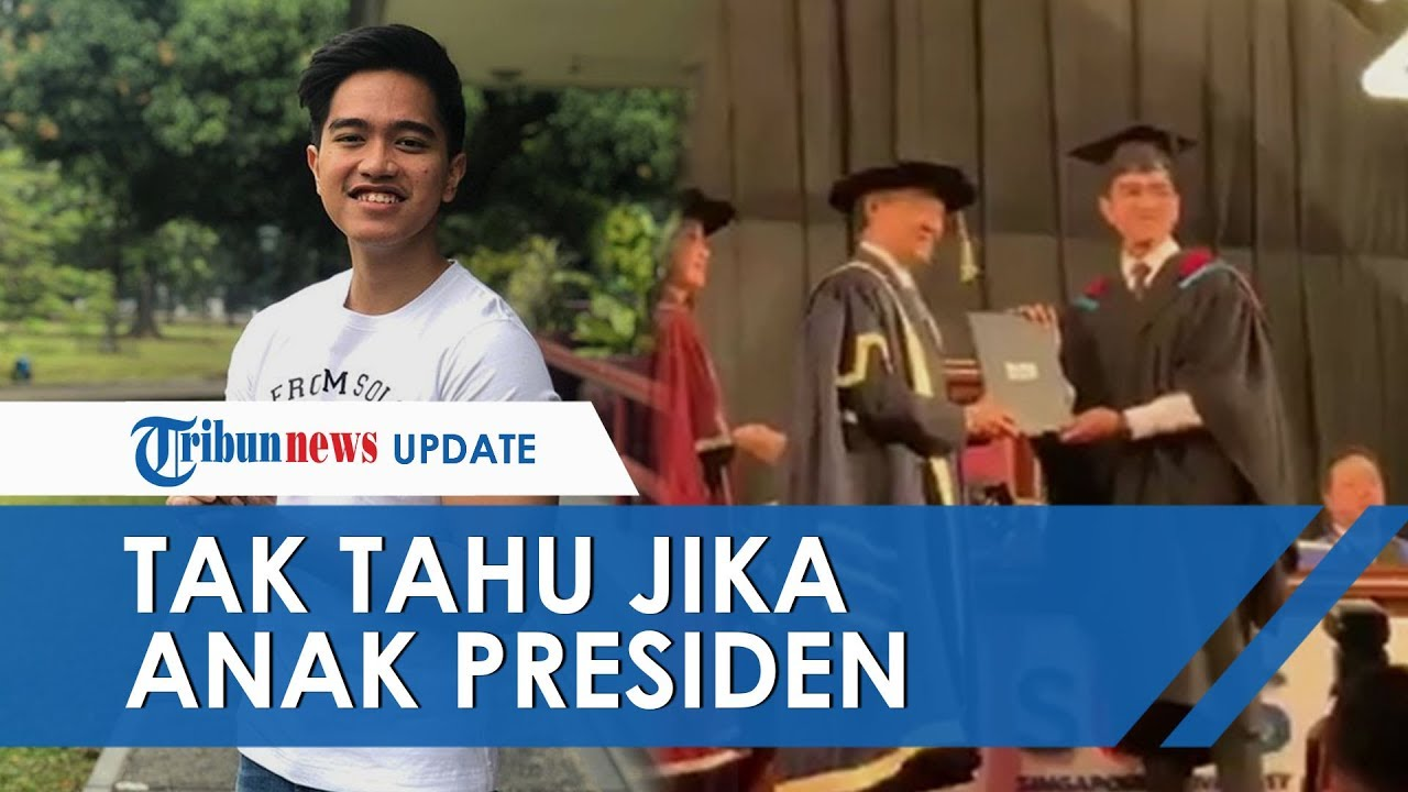 Selama 4 Tahun Tak Terbongkar, Wisudawan di Singapura Terkejut Tahu Kaesang Ternyata Anak Presiden