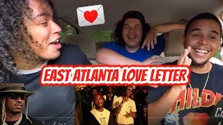 6LACK - East Atlanta Love Letter ft. Future (Official Music Video) REACTION REVIEW