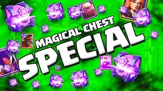 MAGICAL CHEST SPECIAL!  ::  Clash Royale  ::  TIME TO OPEN MORE CHESTS!