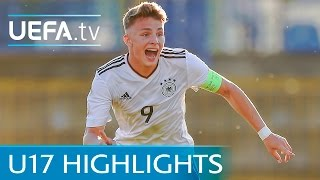 U17 Highlights: See Arp's last-gasp Germany winner