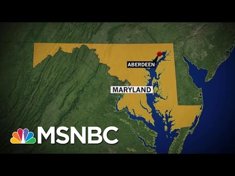 Several Shot, Female Suspect Down In Aberdeen, Maryland | Velshi & Ruhle | MSNBC