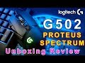 Logitech G502 Proteus Spectrum RGB Tunable Gaming Mouse Unboxing Review in Bangla | _by Game ON