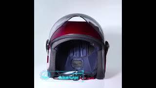 오토바이헬멧 반모 선풍기 클래식 블루투스 경량헬멧