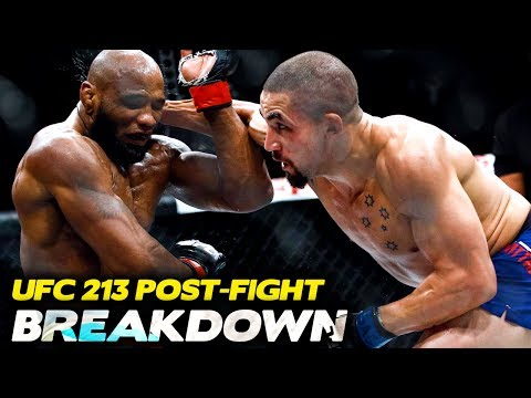UFC 213 Post-Fight Breakdown | Submission Radio