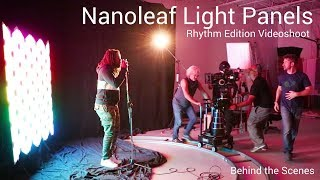 Nanoleaf Light Panels - Rhythm Edition Videoshoot Behind the Scenes