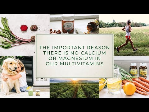 The Important Reason There Is No Calcium Or Magnesium In Our Multivitamins