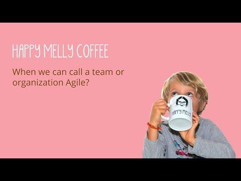 When we can call a team or organization Agile