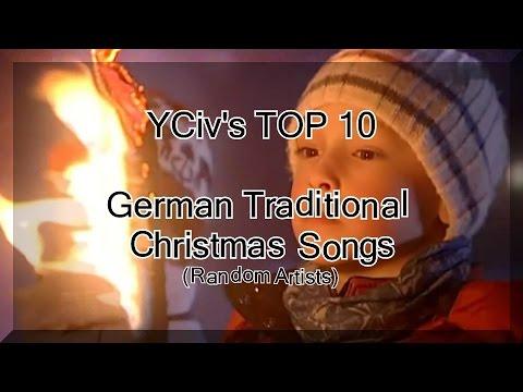 YCiv's TOP 10 - German Traditional Christmas Songs (Random Artists) - Deutsche Weihnachtslieder