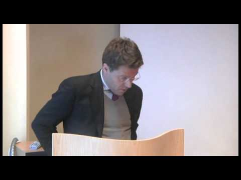 Opening of PRIO Research School - Matts Berdal