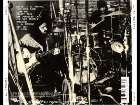 LA Getaway Album-Joel Scott Hill,Chris Ethridge,Johnny Barbata-1971