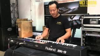 Đàn Organ Roland BK9 - Quê em mùa nước lũ