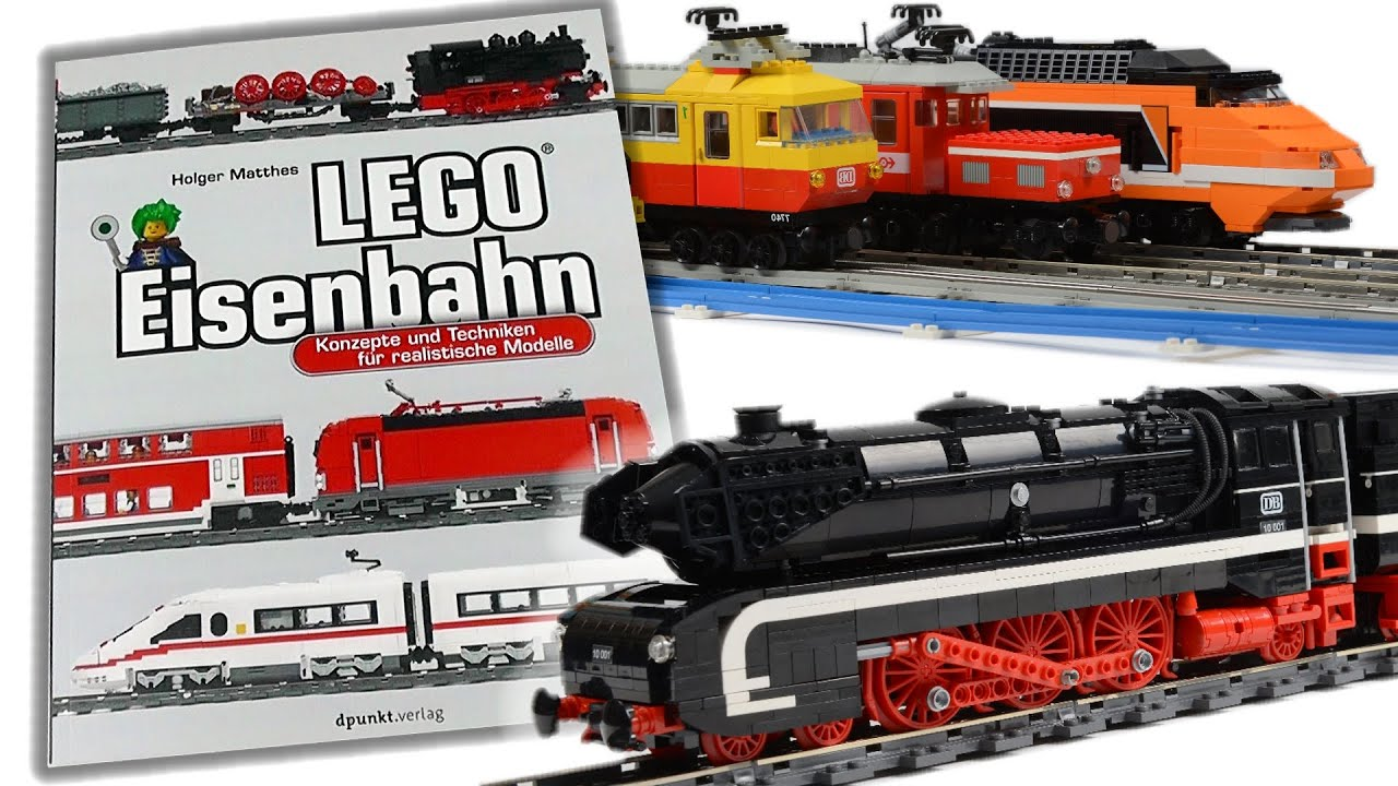 lego eisenbahn buch konzepte techniken und bauanleitungen review deutsch youtube. Black Bedroom Furniture Sets. Home Design Ideas