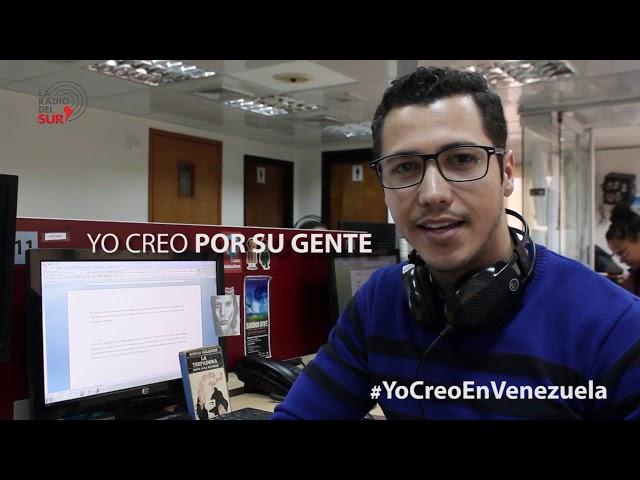 José Gregorio Padrón se suma a la campaña #YoCreoEnVenezuela