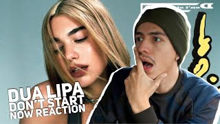 DUA LIPA- DONT START NOW REACTION|E2 reacts