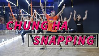 [KPOP] CHUNG HA - SNAPPING | Dance Fitness By Golfy | Give Me Five Thailand | คลาสเต้นออกกำลังกาย