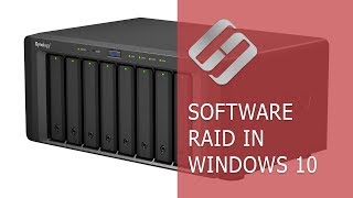 Software RAID in Windows 10, Storage Spaces and Data Recovery from RAID drives 💻⚕️🤔