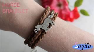 Sieraden maken - Horse bracelet (DIY Tutorial by Sayila)