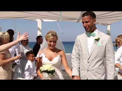 Cyprus wedding video Pernera beach hotel Kylie & DJ