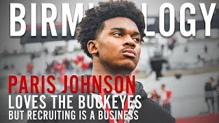 Ohio State: Paris Johnson loves the Buckeyes but needs to see other schools