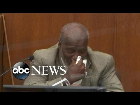 Witness breaks down during testimony in Chauvin trial