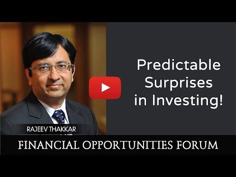 Rajeev Thakkar speaks on Predictable Surprises in Investing