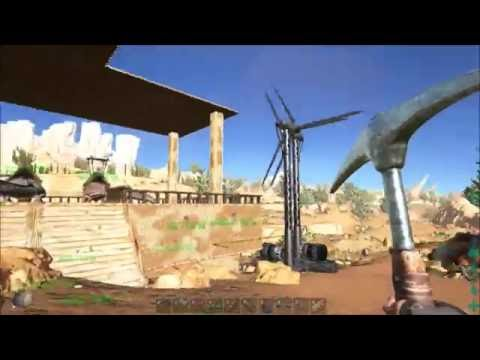 Ark Scorched Earth Episode 15 Wells and Turbines