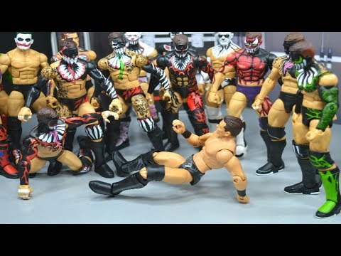 WWE ELITE 59 FINN BALOR & MIZ FIGURE REVIEW!