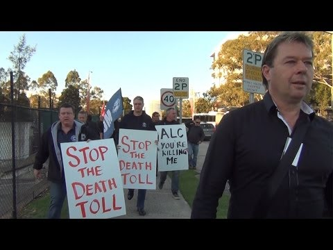 Maritime Union Protest @ Toll Group (Promo)