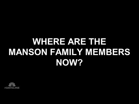 Where Are the Manson Family Members Now? | Dateline NBC
