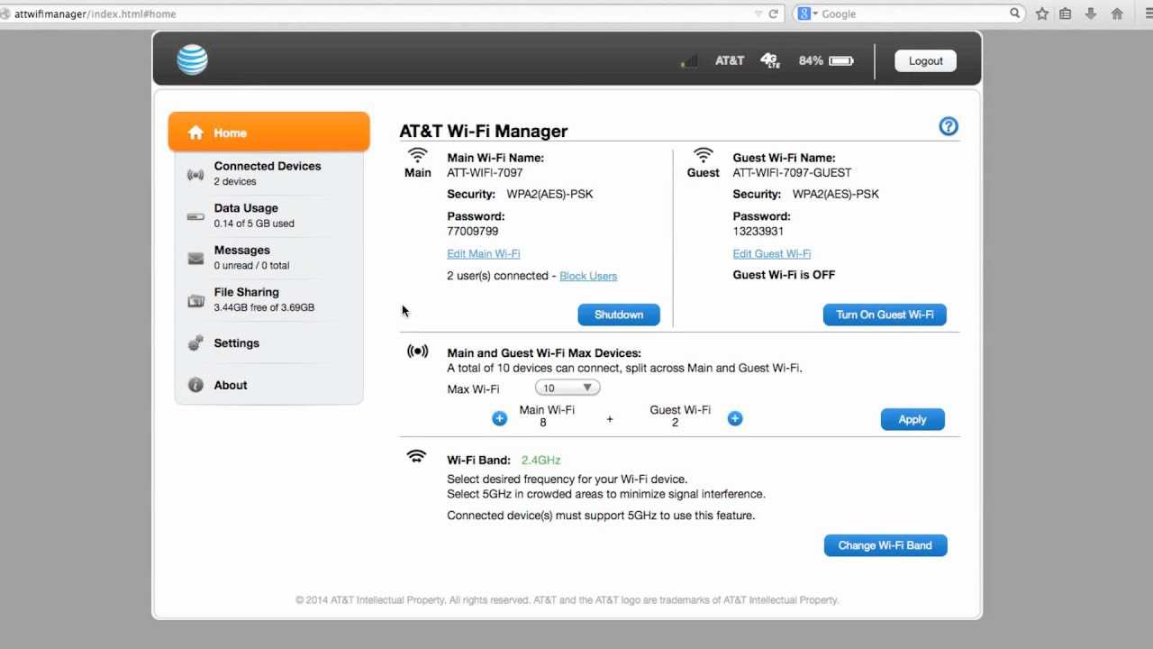 AT&T Velocity Web Manager - YouTube