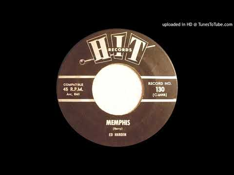 ED HARDIN: Memphis (Hit Records) 1964 (((stereo))) ... great RnR on