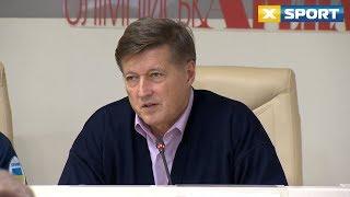 Виктор Корж поздравил Игоря Радивилова и поблагодарил главу НОК Украины