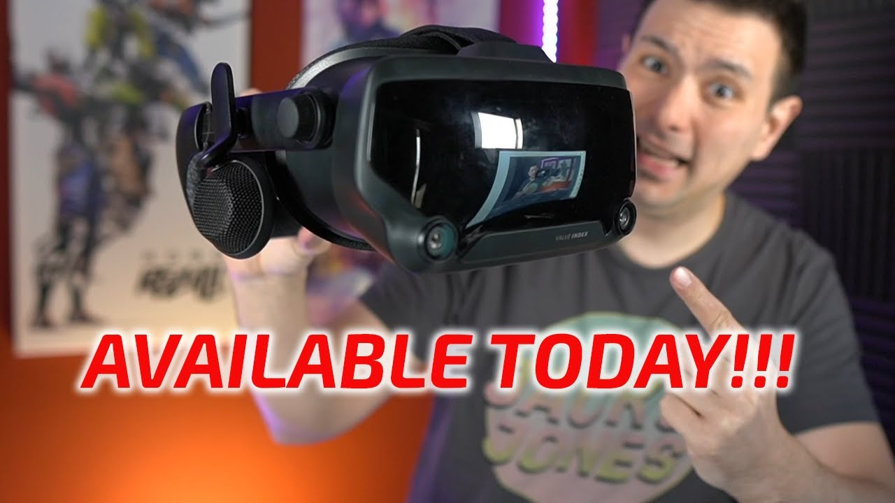 VALVE INDEX AVAILABLE TODAY Best VR Headset For Half Life Alyx Will Sell Out In Minutes! GET IT!