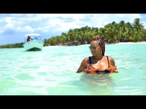 The world's most beautiful Island. Saona island, Dominican Republic.