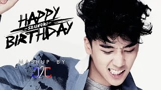 Seungri (BIGBANG) - Birthday Mix 2013 #HappyVIrthday (Mashup by J2J) + Download Link