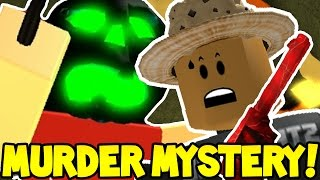 HALLOWEEN KILLER FOUND ME!!! | Roblox MURDER MYSTERY!