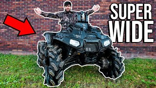 DESTROYING My POLARIS Four Wheeler! (SUNK, WRECKED, RAN OVER)