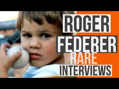 How much did Roger Federer change? Interviews 1997-2017