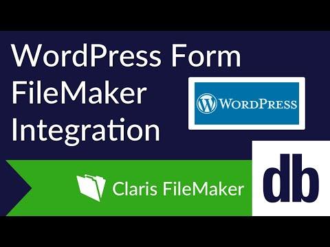 WordPress Form FileMaker Integration | DB Services