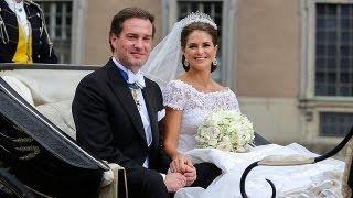 زواج الأميرة السويدية مادلين برجل الأعمال الأمريكي...