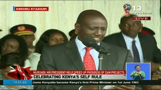 DP Ruto's full speech during Madaraka Day celebrations at Kinoru Stadium