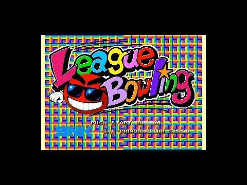 League Bowling (Neo Geo AES 60Hz / EU) - Intro / Attract Mode