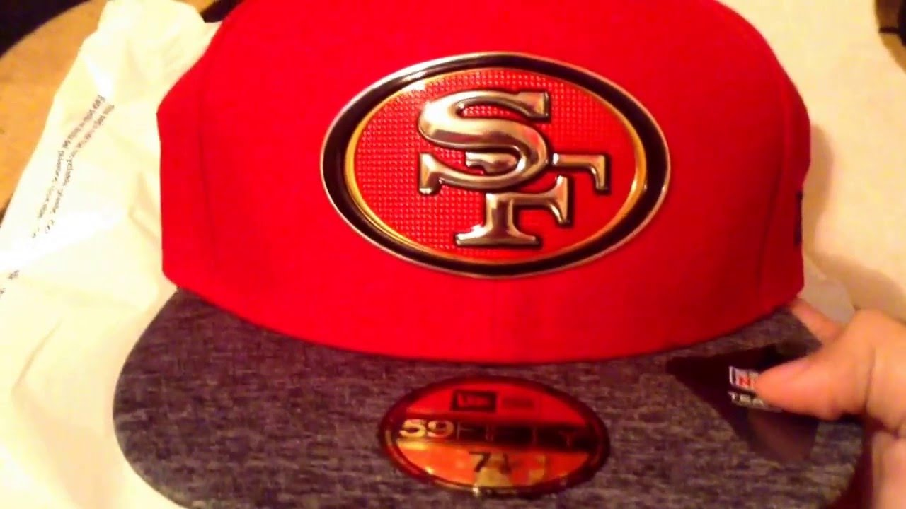 2016 San Francisco 49ers NFL Draft Hat Review - YouTube c2e999bc471