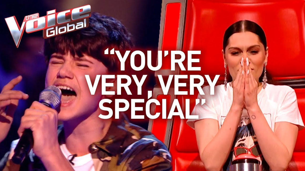 13-Year-Old surprises Jessie J with SELF-WRITTEN SONG in The Voice Kids | #46