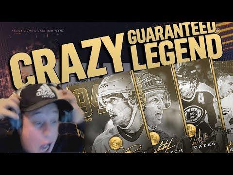 BIGGEST PACK EVER!!! CRAZY LEGEND PACK PULL! DID EA MESS UP?! | NHL 19 LEGEND PACK